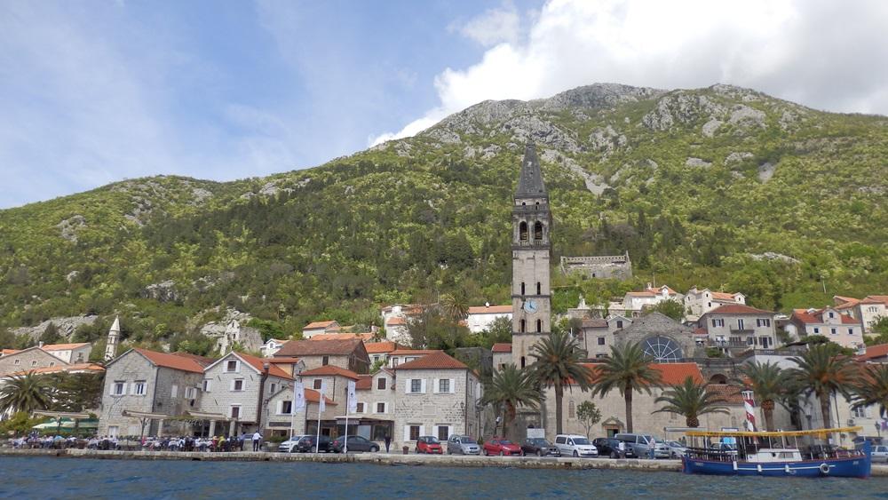 Montenegro coast city