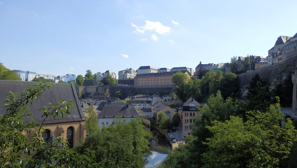 Luxembourg historic city