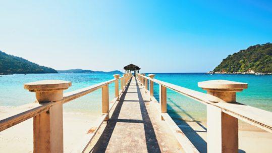 Amazing beach in Malaysia