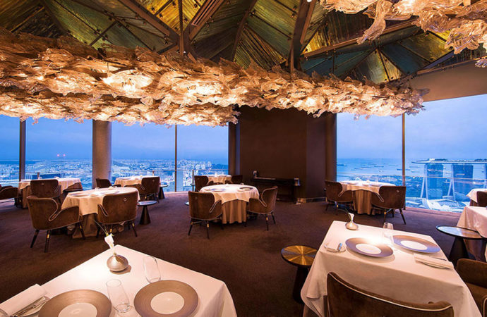 Restaurant Jaan – Best views of the Marina Bay*